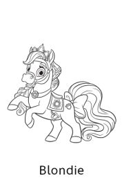 princess palace pets coloring pages - 1000 images about colouring pages kids on pinterest