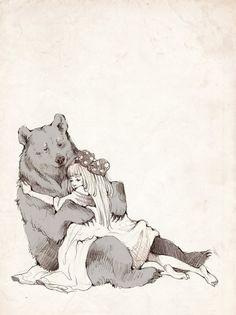 Иллюстрации, Изображения Медведей, Викканство, Фэнтези Рисунки, Татуировки Медведя, Иллюстрации Арт, Медведи, Ведьмы, Искусство С Феями