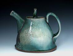 Lyla Kaplan  soda fired teapot