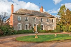Rowington Hall, Rowington, Warwickshire. A Georgian country house with oak floors and period fireplaces. The grounds include a walled garden. 6 beds, 4 baths, 3 receps, study, garden room, breakfast kitchen, 2-bed cottage, garage, workshop, further outbuildings, 4 acres. £2.5m Sotheby's International Realty 01789-200900.