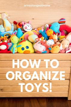 Here are tips, tricks, and ideas for organizing and storing toys in your home! My favorite toy storage tips and the best organizing bins and containers to keep things tidy. Organizing Life, Home Organization Hacks, Baby Tips, Baby Hacks, Playroom Decor, Nursery Decor, Toy Storage, Cool Toys, Kids Playing