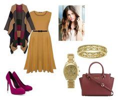 """""""Thanksgiving Outfit"""" by shugar-5 on Polyvore featuring Madeleine Thompson, BKE, Lipsy and MICHAEL Michael Kors"""