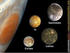 lunas principales de Júpiter