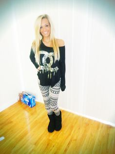 <3 outfit for one of those days where all you want to do is watch movies all day long.