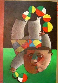 Inos Corradin(1929~)「Le jongleur」