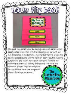 Clutter-Free Classroom: How I Made Nouns Fun...