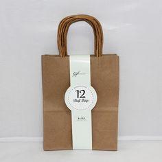 Kraft Bags: Primary asst. x4