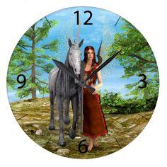 #Fairy and #Unicorn #Clock
