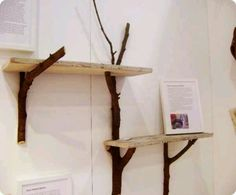 Diy shelf - Branches, nature effect