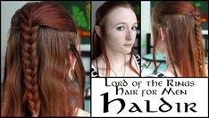 Lord of The Rings Hair for Men - Haldir