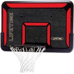 Lifetime Basketball Backboard and Rim Combo 3823 44 in. Plastic Goal