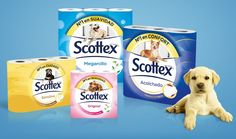 Scottex sustituye a su cachorro por perros en adopción
