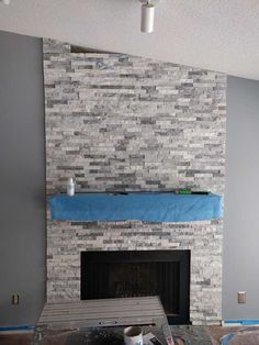 Post with 1455 votes and 387312 views. Tagged with diy, renovation, fireplace; Shared by DIY Stone Fireplace Surround Stone Fireplace Makeover, Fireplace Facade, Stone Fireplace Surround, Stacked Stone Fireplaces, Limestone Fireplace, Farmhouse Fireplace, Faux Fireplace, Fireplace Remodel, Home Fireplace