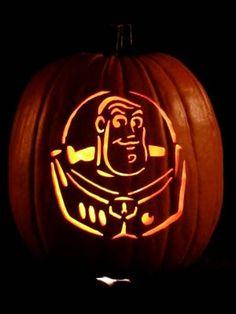 Buzz Lightyear pumpkin