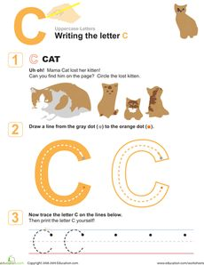 Nice worksheets for basic letter writing skills. Less focused on the ...