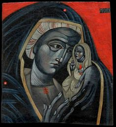 Mother of God - ICONART Contemporary Sacred Art Gallery