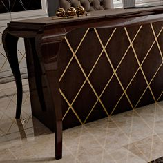 High End Designer Lacquered Writing Desk at Juliettes Interiors - Chelsea, London.