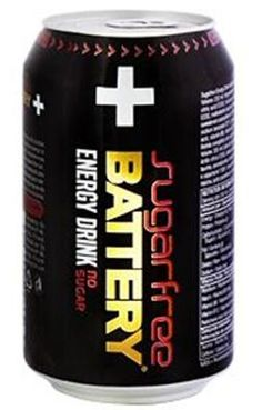 Battery Enerrgy Drink Sugarfree