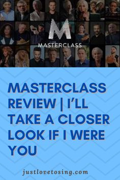 A few months ago, a colleague showed me this site - masterclass.com? Kind of an online school with renowned people as instructors. Check below. #JustLovetoSing #OnlineCourse #Masterclass #Coaches #Blog Classroom Environment, A Classroom, Singing Lessons Online, Vocal Coach, Fiction Writing, Coaches, Master Class, Online Courses, Closer