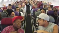 'The Lion King' Australian cast performs 'Circle of Life' during flight