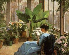 Frances Bennerman, Giardino d'inverno