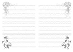 Free Printable Notebook Paper Templates