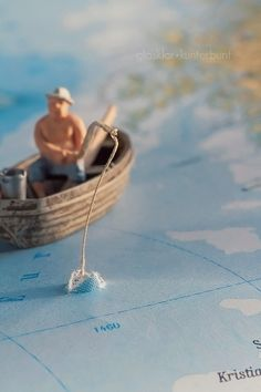 The Old Man and the Sea - macro by glasklar+kunterbunt