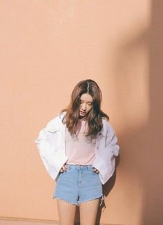 nice —Pastel Look ♡... by http://www.globalfashionista.xyz/korean-fashion-styles/pastel-look-%e2%99%a1/
