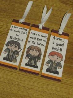 Harry Potter, Ron Weasley, Hermione Granger, segnalibro stampabile insieme, download immediato, partito favore, calza stuffer, San Valentino, fai da te