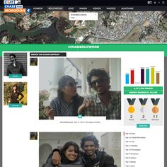 MTV Chase the monsoon: #socialwall for a TV show #UGC #Dialogfeed #TV