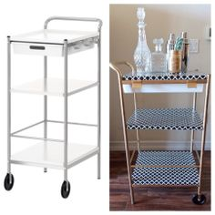 1000 images about bar cart on pinterest utility cart for Tea trolley ikea