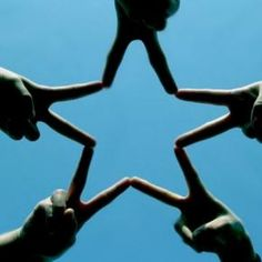 The finger star is part of who i am because my friends and i had this pact and whenever we needed to be reminded of it we would get together and make the star. It is meant to remind us that we are all connected in one way or another.