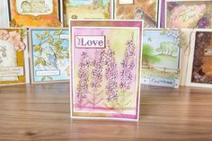 Gorgeous lilac #sentimentcard inspiration from the Sheena Perfect Partners range. Shop now: http://www.createandcraft.tv/SearchGridView.aspx?fh_location=//CreateAndCraft/en_GB/$s=sheena%20perfect%20partners&gs=sheena%20perfect%20partners #papercraft #cardmaking