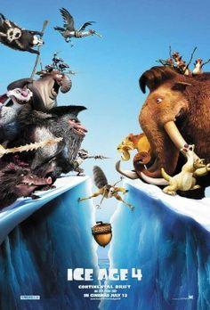 Ice Age 4 en telecinco, manda huevos, melocotón para arriba melocotón para abajo