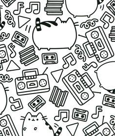 Pusheen Coloring Book Pusheen Pusheen the Cat