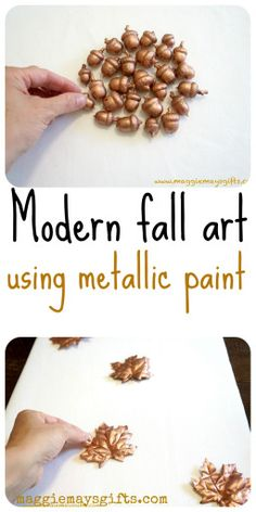 Make modern fall art. No more oranges and browns.