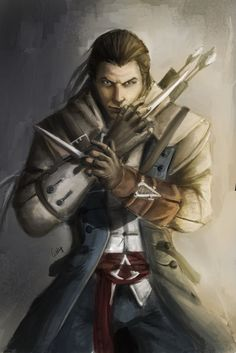 Assassin's creed III : Connor kenway by ~chimicalstar on deviantART