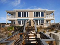 Luxury Beach Home Directly on Gulf of MexicoVacation Rental in Rosemary Beach from @homeaway! #vacation #rental #travel #homeaway