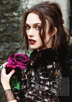 Keira Knightley ♥ love this whole look!