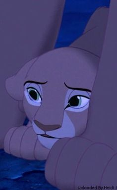 Nala when she finds out about Simba and Mufasa :(