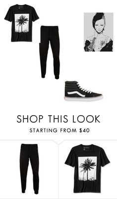 """""""RANDOM!!"""" by kaylenfernandes on Polyvore featuring McQ by Alexander McQueen, Banana Republic, Vans, men's fashion and menswear"""