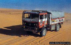 les camions d'assistance RVI - Dakardantan
