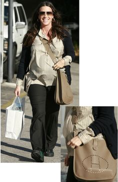 Alanis Morissette With Hermes Pretty and Pregnant: Alanis Morissette Shops with Hermes in Hand