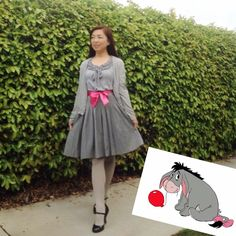 Eeyore Dapper Day Outfits, Cute Outfits, Disney Dress Up, Disney Clothes, Disneybound Outfits, Disney Dapper Day, Disney Inspired Fashion, Disney Fashion, Disney Themed Outfits