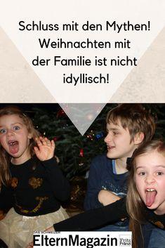 Unsere Autorin Ulrike Légé macht Schluss mit ihren idyllischen Gedanken rund um die Familienweihnacht und erzählt warum. Family History, Thoughts, Round Round, Christmas