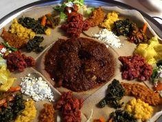 Doro Wat on Injera (Ethiopia) | 29 Heavenly Christmas Foods From Around The World