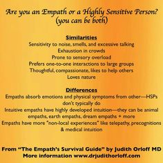 The Empath's Survival Guide excerpt Empath Traits, Intuitive Empath, Empath Abilities, Psychic Abilities, Highly Sensitive Person, Sensitive People, Apocalypse, Judith, Infj Personality