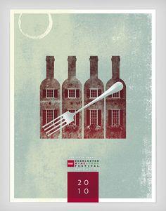Beautiful Festival Posters by J. Fletcher Design