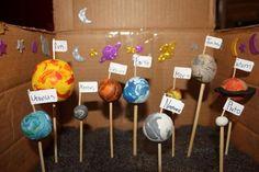 clay solar system model - Google Search