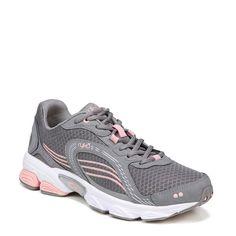 Ryka Women's Ultimate Medium/Wide Running Shoes (Grey/Rose/Silver)